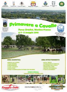 locandina  PRIMAVERA A CAVALLO